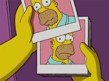 Homer fotos arrependimento