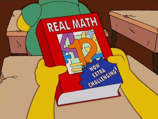 Resultado de imagen de math simpsons
