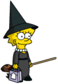 Tapped Out Lisa Trick-or-Treating Costume