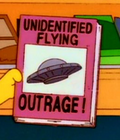 Unidentified Flying Outrage!