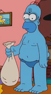 Homer as Doctor Manhattan