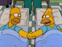 Homer e Abe