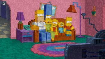 Minecraft Couch Gag