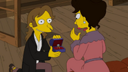 Charles Montgomery Burns young in Four Regrettings and a Funeral