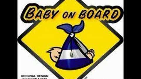 Baby On Board Barber Shop Quartet Homer Simpson