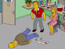 Homer desmaiado buck tabitha