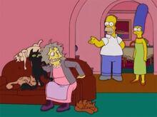 Homer marge velha dos gatos