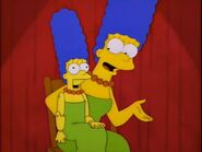 Marge ventriloquism act