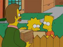 Ned entrega cx ass crianças