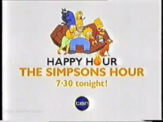 Network Ten - Simpsons Happy Hour promo slide (2003)