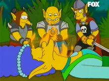 Trolls atacam cleriga 18x17