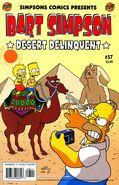 Bart Simpson-Desert Delinquent