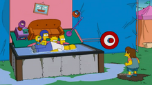 Dunk Tank Couch Gag
