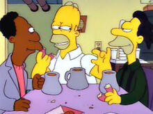 Homer contando filme carl lenny