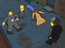 Bart bartman pais mortos ladrão