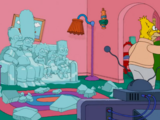 Ice Sculpture Family couch gag