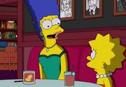 Marge i Lisa w Springfield Sardi's