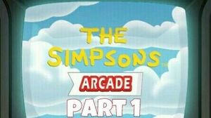 "The Simpsons arcade ""ios"" Gameplay part 1"