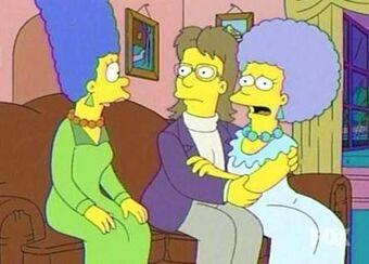 Simpsons gay wedding patty