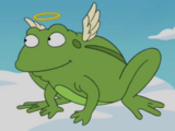 George the frog