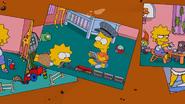 Bart train stopping Lisa