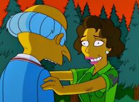 Gloria zrywa z panem Burnsem