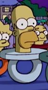 Homer as a pacifier