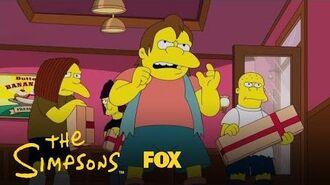 Nelson & His Crew Raid The Ice Cream Store Season 29 Ep. 10 THE SIMPSONS