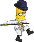 Tapped Out Clockwork Bart