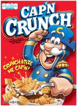 Cap'n crunch cereal box