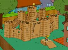 Castelo papelão 18x15