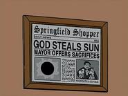 Мэр в газете
