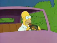 HomerDrivingEarlyS2