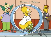 Homer o palhaço