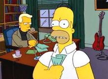 Homer raiva reitor peterson