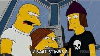 Bart Stinks | Simpsons Wiki | FANDOM powered by Wikia