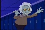 Treehouse of Horror III Albert Einstein