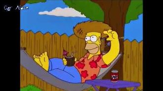 -I Simpson- Homer - Beer in the Coconut (Sub Ita)