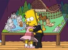 Bart abraço lisa maquete abrigo