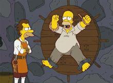 Homer roda tortura lenny vingança