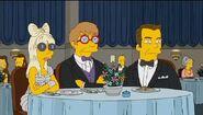 Lady Gaga Simpsons with Elton John 2