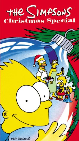 The Simpsons Christmas Dvd.The Simpsons Christmas Special Video Simpsons Wiki