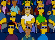 Homer cinema 3D