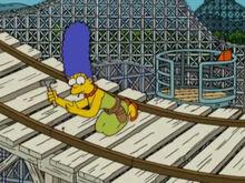 Marge conserto trilhos zoominator