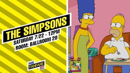 Simpsonowie Comic-Con 2017