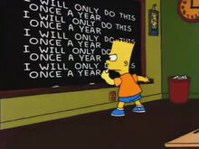 The Simpsons 138th Episode Spectacular Gag
