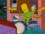 Bart sleep drumming