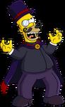 Evil Top Hat Homer