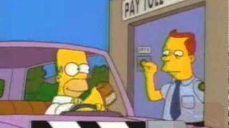 Glove Slap Montage - Simpsons