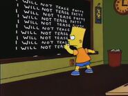 Lisa the Skeptic Chalkboard Gag